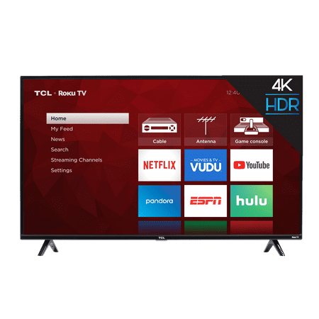 TCL 75″ Class 4K UHD LED Roku Smart TV 4 Series Now $678