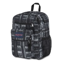 ce02f047ab Product Image Big Student Backpack Bag School BLACK CHEVRON STRIPE