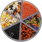 1 Pound Kerry Orange And Black Halloween Mix Sprinkles Baking Accs. & Cake Decorating