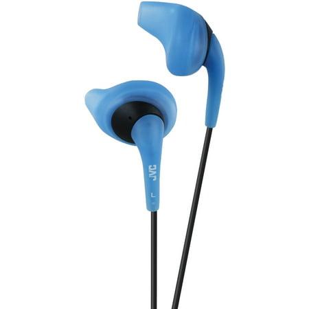 JVC HAEN10-A-K Gumy Sport Earbuds (Blue)