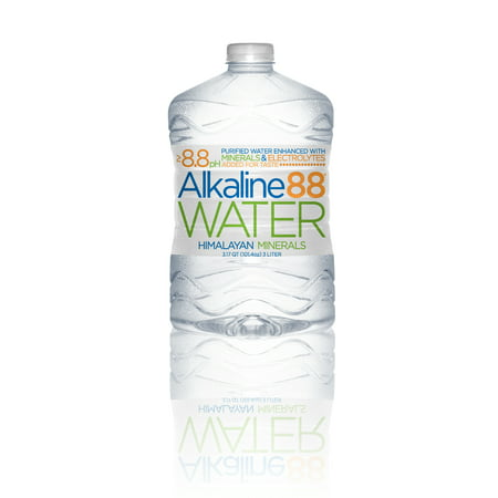 Image of Alkaline88 Purified Water, Enhanced with Electrolytes and Minerals - 3-Liter (4 Count)