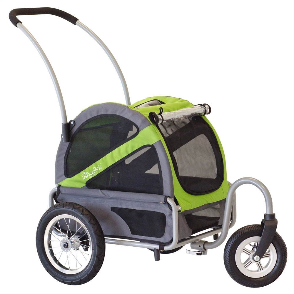 Doggyride Mini Dog Stroller - Outdoors Green