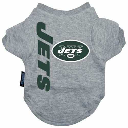 New York Jets Dog Tee Shirt - Small