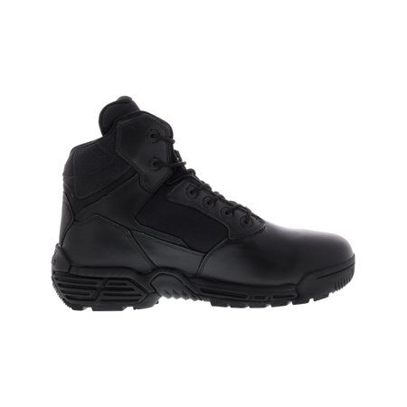 6c88b3cf163 Magnum Men's Stealth Force 6.0 Waterproof Black High-Top Leather Industrial  and Construction Shoe - 10.5W
