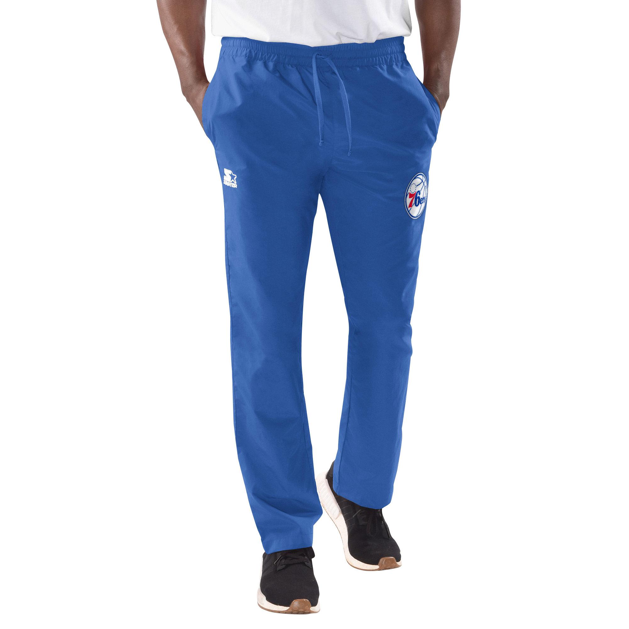 Philadelphia 76ers Starter Tip-Off Warm Up Pants - Royal