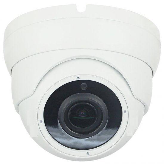 HD CCTV HD SDI EX SDI 2.4MP Eyeball Vari-focal Turret Camera 2.8-8mm Dual Video