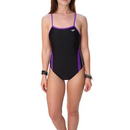 Speedo Women's Performance Racing II Tech One Piece Swim (Womens Performance Swimwear)