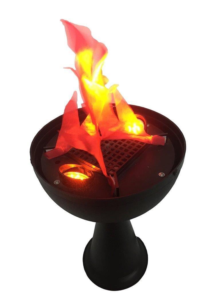 Elegantoss Artifical Led Fire Flame Light Realistic Silk