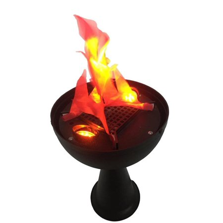 Elegantoss Artifical LED Fire Flame Light, Realistic Silk Flame Effect, Realistic Fire Effect Torch, Fake Fire ()