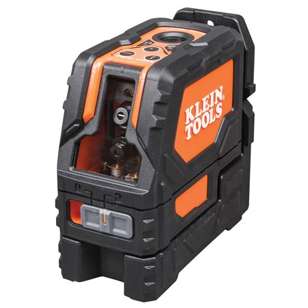 Klein Tools 93LCL Self-Level Cross-Line Laser Level with Plumb Spot