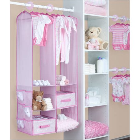 Delta Children 24-Piece Nursery Closet Organizer