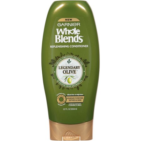 Garnier Whole Blends Replenishing Conditioner Legendary Olive 22 FL OZ