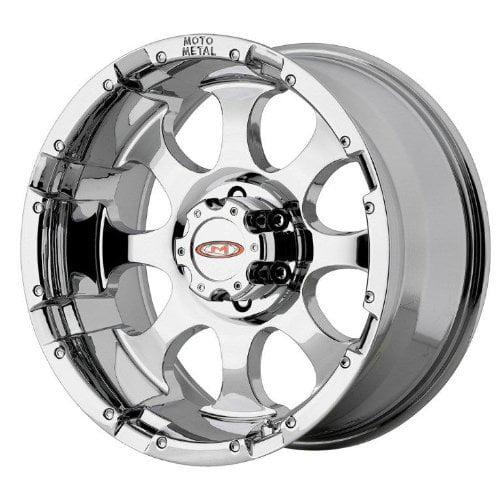 "Moto Metal MO955 Triple Chrome Plated Wheel (16x8""/8x165...."