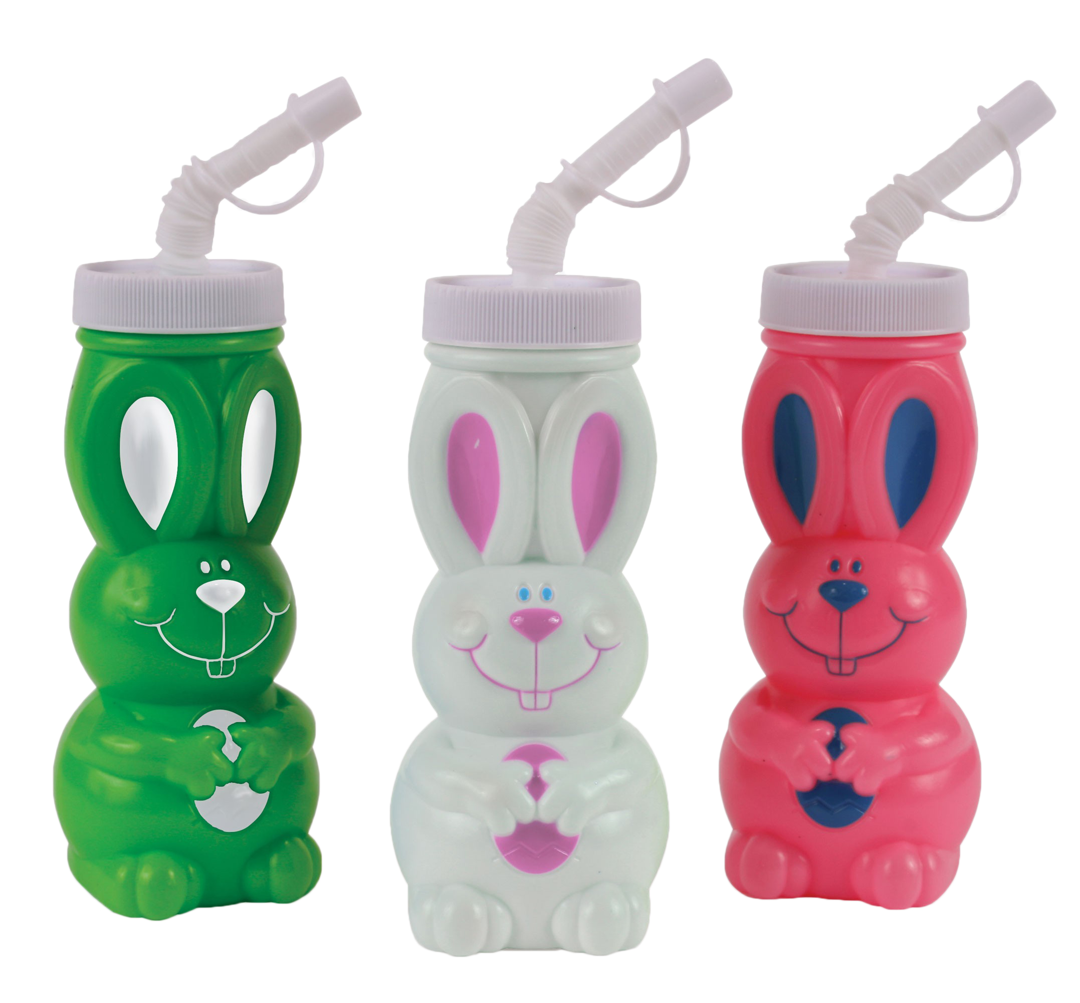 """Easter Unlimited Assorted Color R.J. Rabbit Easter 6"""" Party Cup, Assorted"""