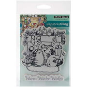 """Penny Black Cling Rubber Stamp, 5"""" x 7.5"""" Sheet, Warm Wishes"""