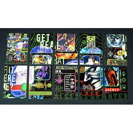 1996 Upper Deck Johnny Quest ^ Quest Challenge Chase Set (QC01-QC10)