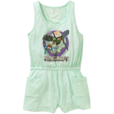 Minecraft Girls' Elytra In Flight Romper