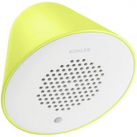 KOHLER K-9246-FGN Moxie Acoustic Wireless Speaker, Chartreuse