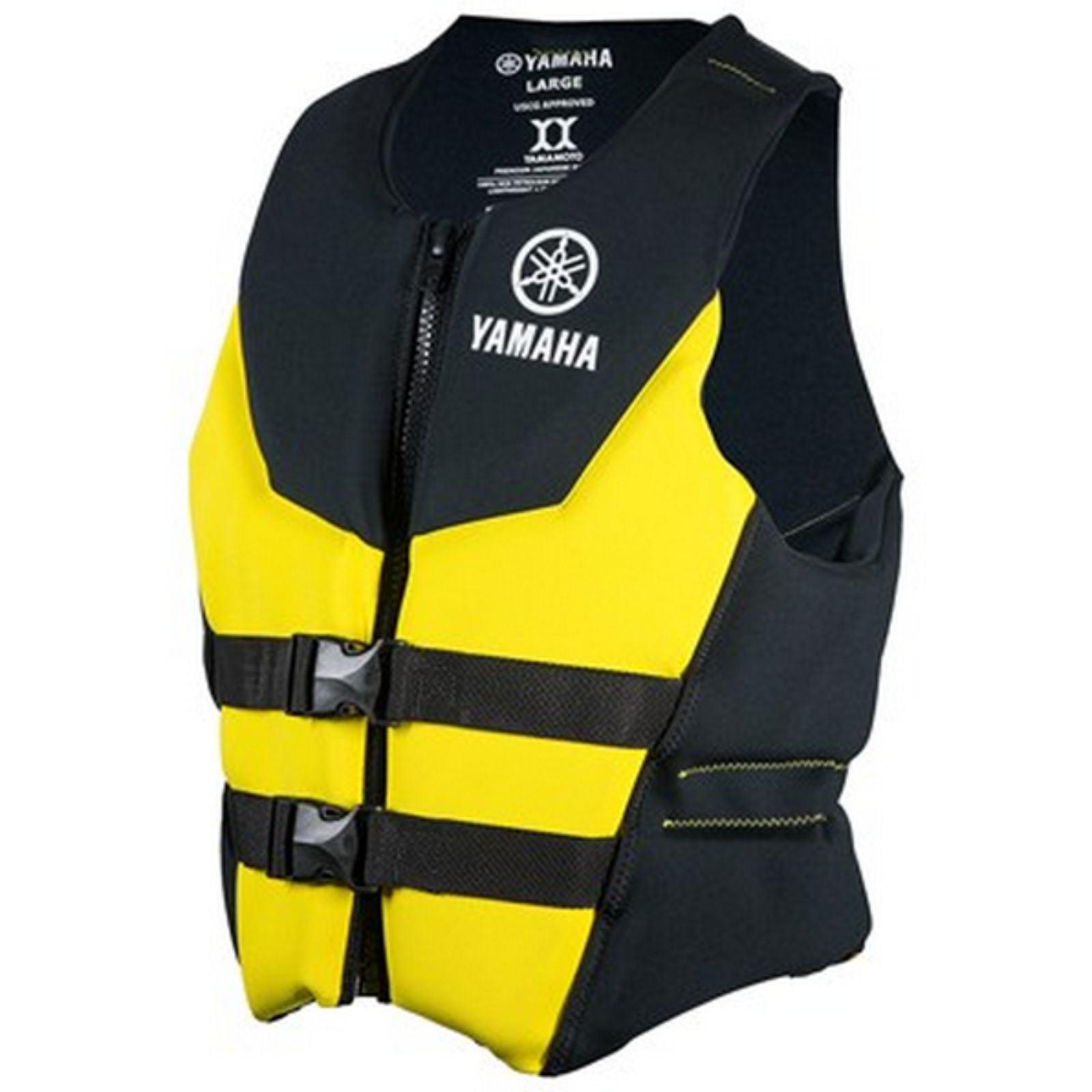 Oem Yamaha Men S Neoprene 2 Buckle Pfd Life Vest Jacket Walmart Com