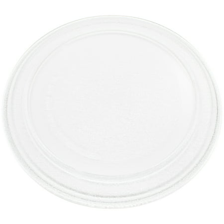 """2-Pack Replacement Oster OM0701A8B Microwave Glass Plate - Compatible Oster 3390W1A035 Microwave Glass Turntable Tray - 9 5/8"""" (245 mm) - image 2 de 4"""