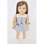 MY BRITTANY'S PARIS THEMED SWIMSUIT FOR AMERICAN GIRL DOLLS