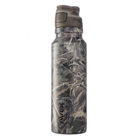 (40 OZ. FREEFLOW AUTOSEAL® STAINLESS WATER BOTTLE REALTREE)