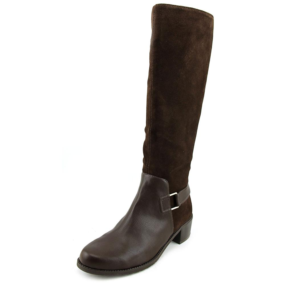 Aerosoles After Hours Women Round Toe Leather Brown Knee High Boot by Aerosoles