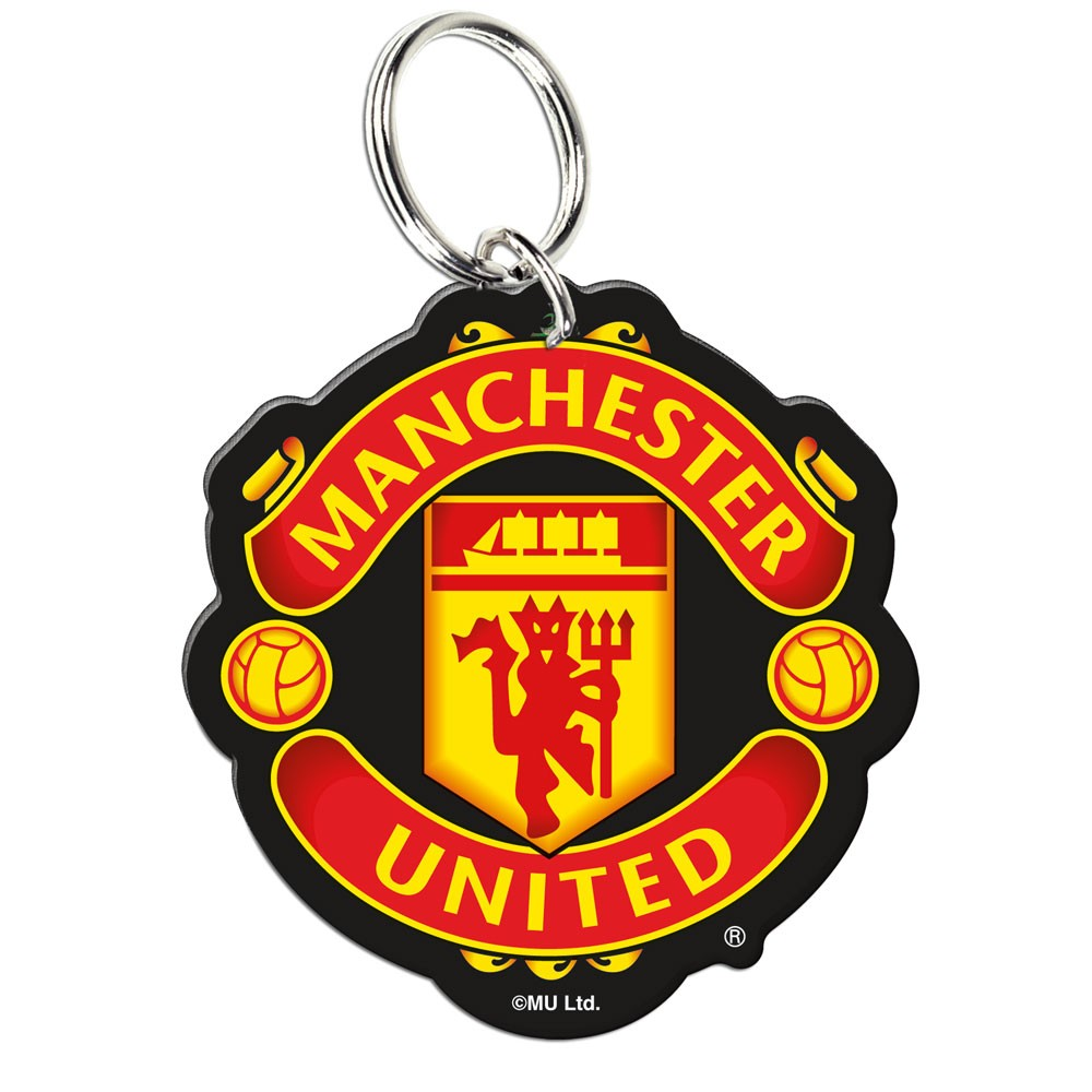 Manchester United Official PREMIER LEAGUE 2 inch  Key Chain Keychain by Wincraft
