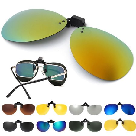 039e836d51 Polarized Clip On Sunglasses UV400 Sunglasses Lens Fishing Night Driving  UV400 - Walmart.com