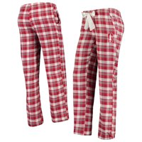 Stanford Cardinal Concepts Sport Women's Piedmont Flannel Pants - Cardinal/Gray