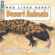 Who Lives Here? Desert Animals - eBook
