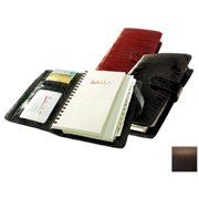 Raika RO 207 MOCHA 4.5in. x 6.75in. Pocket Planner - Mocha