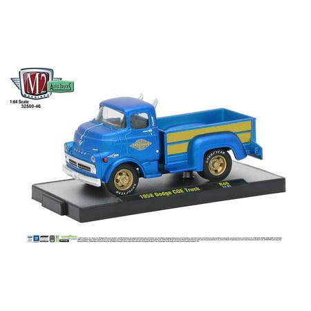 M2 Machines Auto Thentics 1:64 1958 Dodge COE Truck - Satin