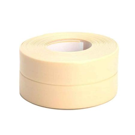 Strip Wall (Adhesive Waterproof Tape Anti-moisture Bathroom PVC Wall Sticker Kitchen Ceramic Sealing Strip Home Decortaion)
