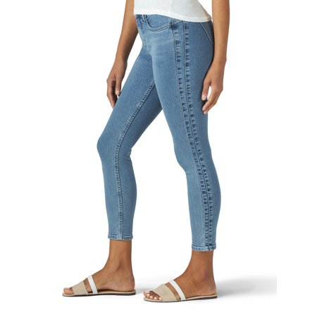 Lee Riders Women's Shape Illusions Side Panel Ankle Jean