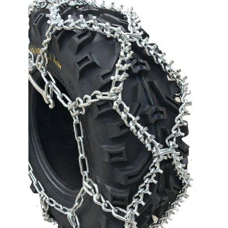 Snow Chains  24x9-12, 24 9 12 ATV UTV Stud Tire Chains, priced per pair - image 5 de 5