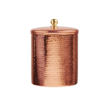 Alexandria Copper Storage Canister, Large, 64 oz
