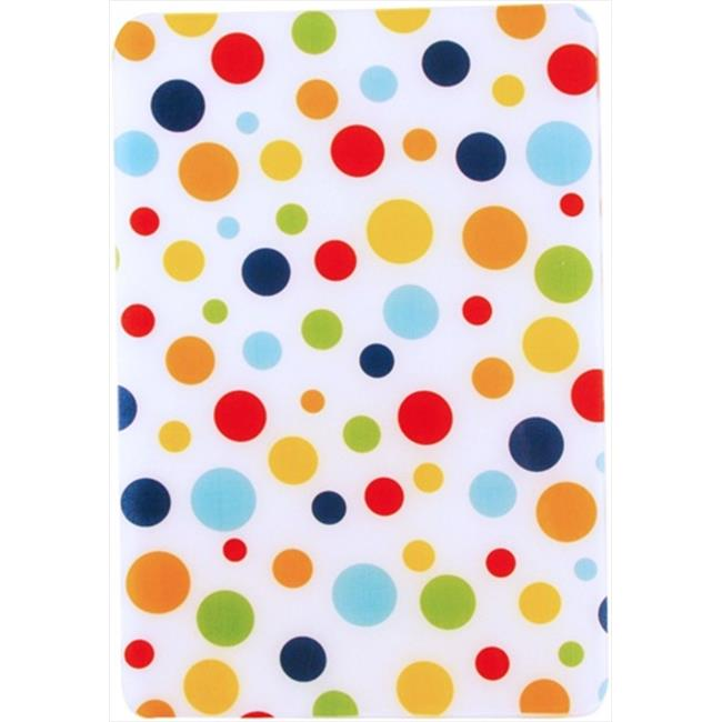Andreas Dots Rectangular Casserole Silicone Trivet - Pack of 3