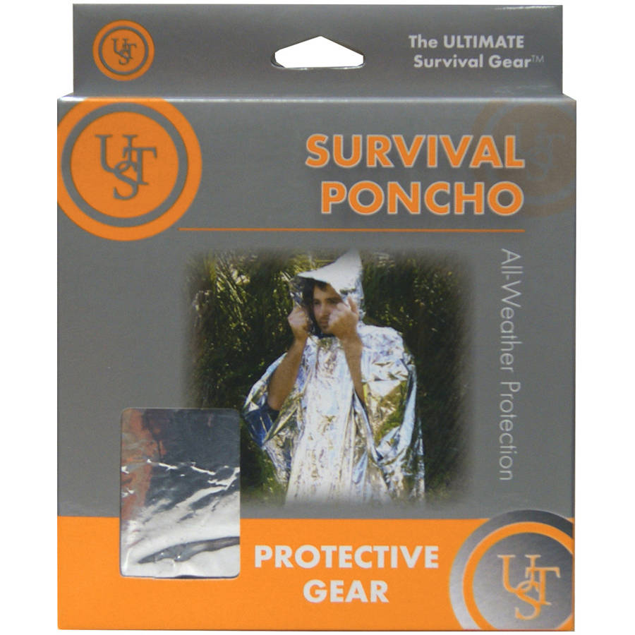 UST Survival Reflect Poncho by UST