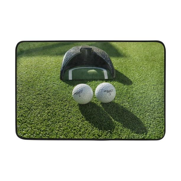 Popcreation Anti Slip Welcome Door Mat, Golf Outdoor Decor