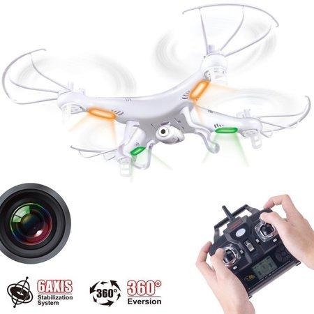 Syma X5c 2Mp Hd Fpv Camera 2 4Ghz 4Ch 6Axis Rc Drone Quadcopter Gyro 2Gb Tf Card