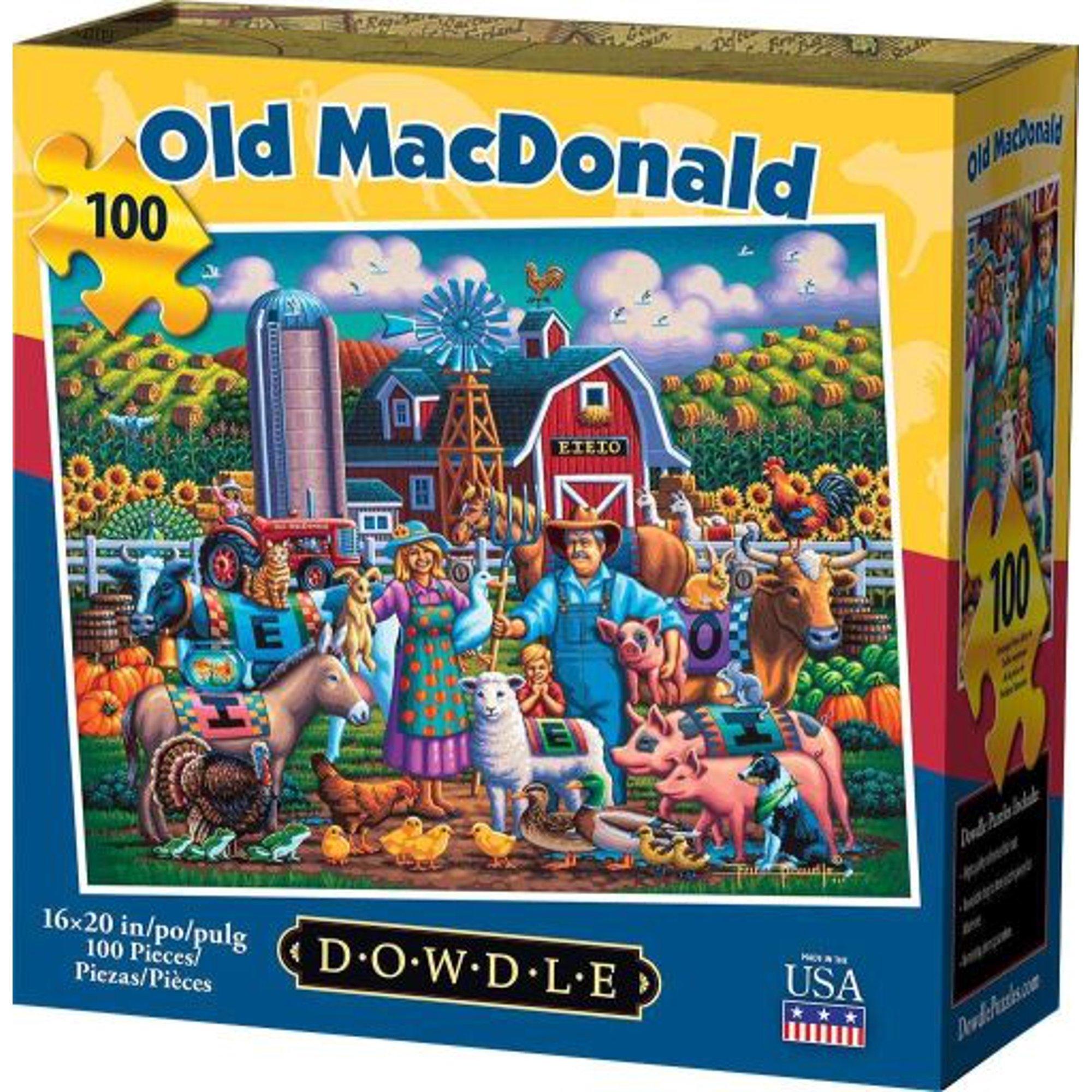 Old Mcdonald 100 Piece Puzzle | Walmart Canada