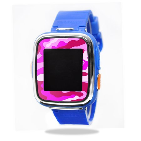 Mightyskins Protective Vinyl Skin Decal For Vtech Kidizoom Smartwatch Dx Wrap Cover Sticker Skins Pink Camo