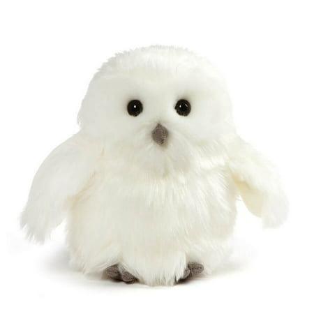 GUND Ophelia Snowy Owl Stuffed Animal Plush, White, 7