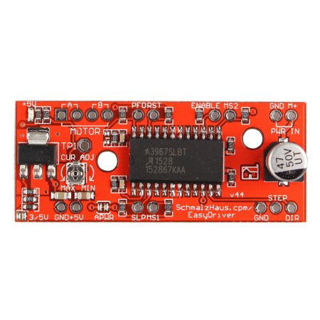 New EasyDriver Shield Stepping Stepper Motor Driver A3967 Module For Arduino (Injector Driver Module)