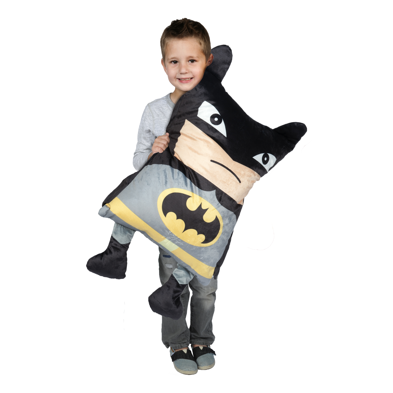 Batman Bat Mayhem Kid's Huggable 3-D Pillow Buddy by Franco Manufacturing