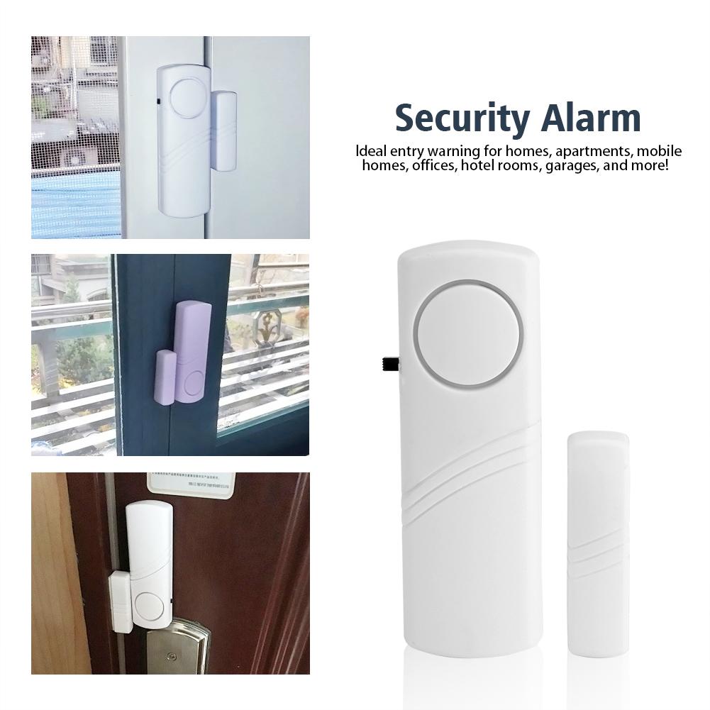 Hurrise Wireless Home Window Door Entry Anti Theft Anti Burglar