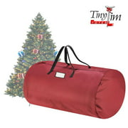 Tiny Tim Totes 83-DT5563 5700 Canvas Christmas Tree Storage Bag - Extra Large - 12 ft. Tree - Red