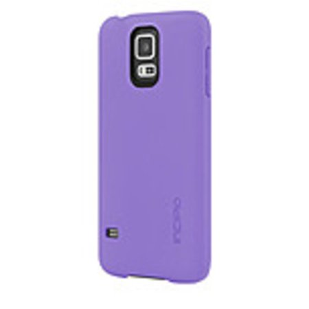 Incipio Feather Case for Samsung Galaxy S5 - Purple - SA-527-PUR - Ultra Thin - Snap-On - Plextonium