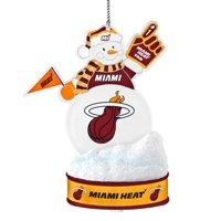 Topperscot by Boelter Brands NBA LED Snowman Ornament, Miami Heat